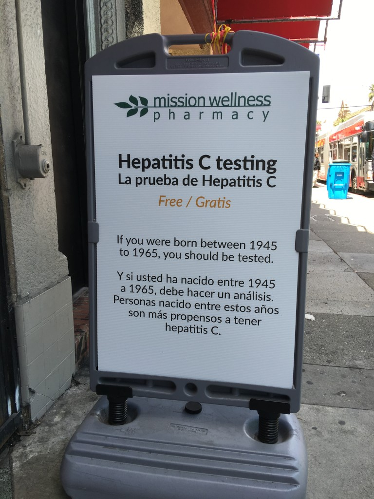 sign Free Hep C Testing